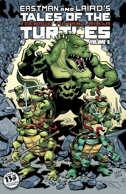 IDW TMNT tales of the TMNT vol 08 TP