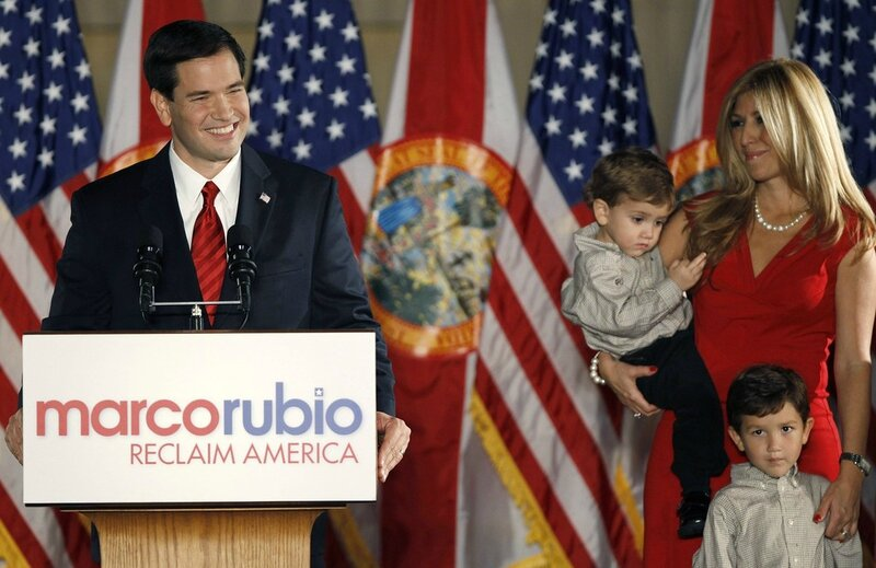 Marco Rubio with Family