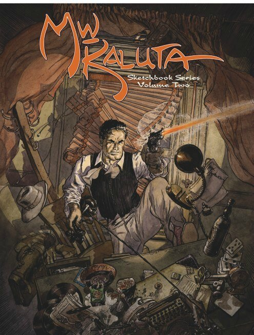 michael kaluta sketchbook series vol 2
