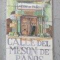 Calle del meson de panos