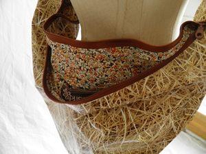 detail doublure sac fouin