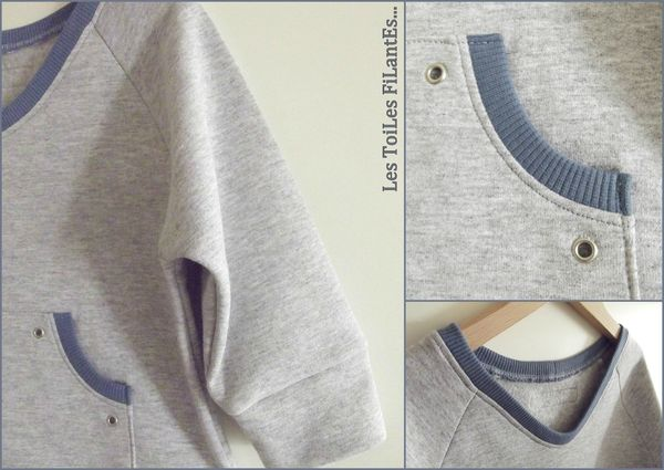 18-Ensemble jean sweat et tee-shirt bleu gris Aurèle16