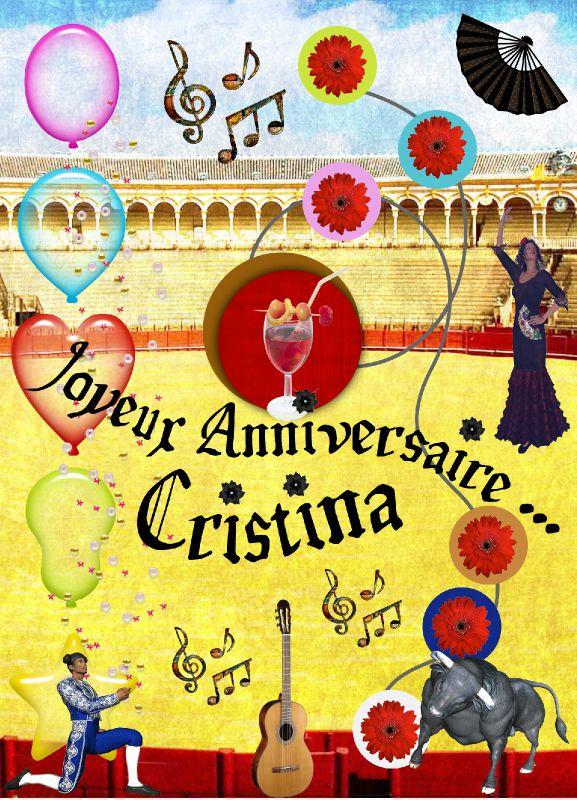 Anniversaire Cristina, 9 nov. 2011.