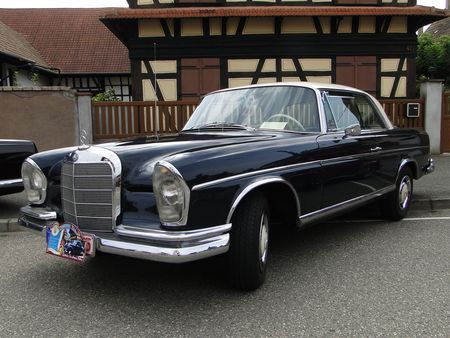 MERCEDES BENZ 300 SE Coupe W112 1964 Lipsheim Retro 2010 2