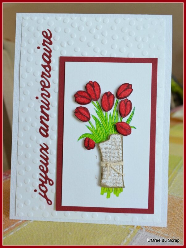 joyeux anniversaire stampin up love is the kidness1