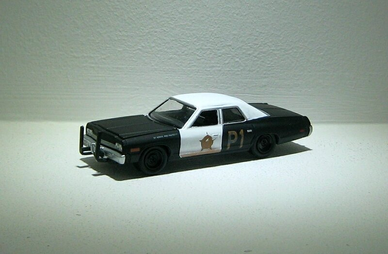 Dodge monaco de 1974 (Greenlight) 02
