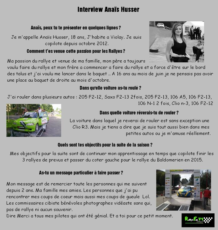 Interview Annais Husser