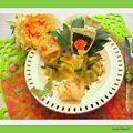 Flan aux asperges.......essai empreintes flexipan demarle pour mon 2ème atelier culinaire