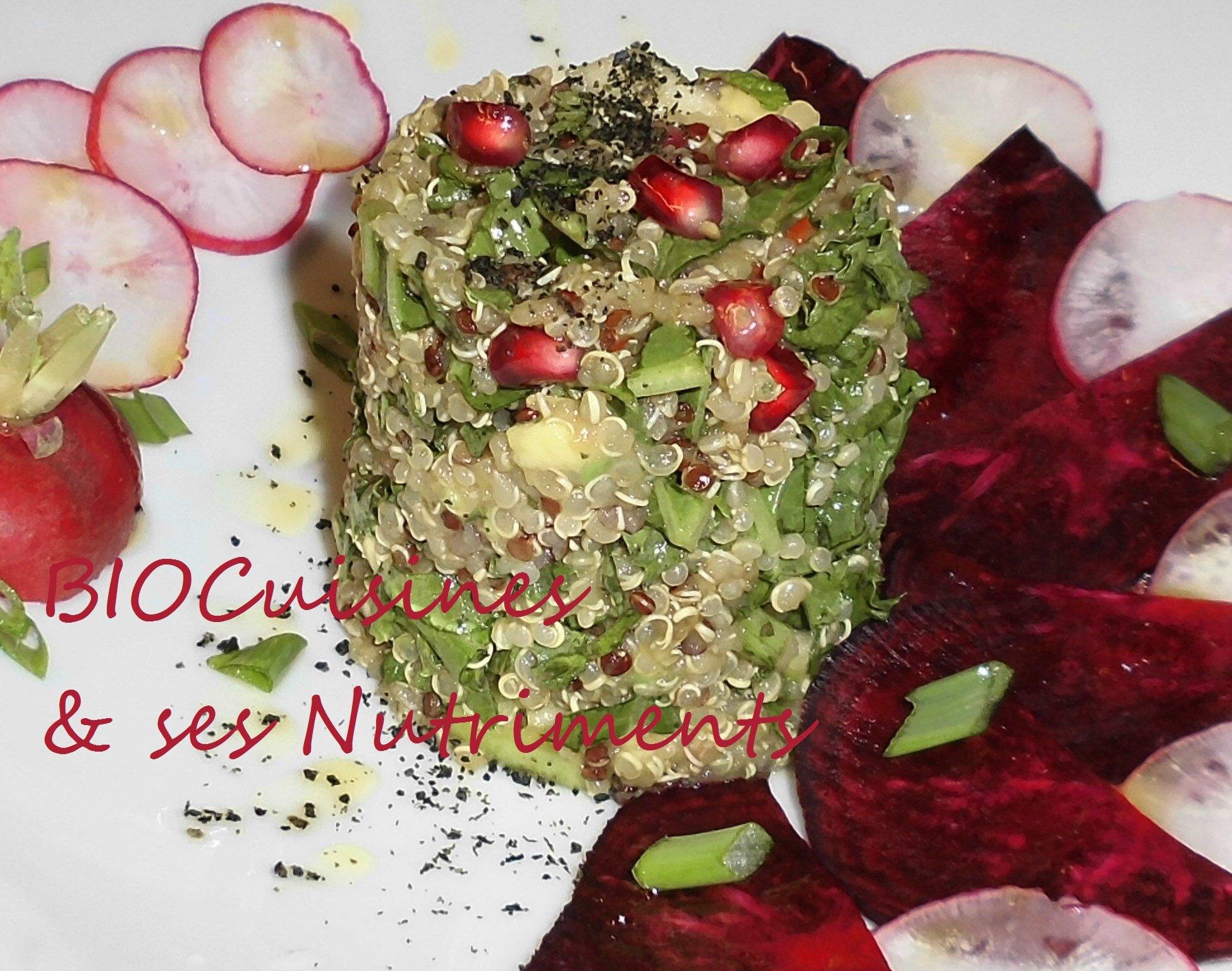 quinoa betterave