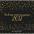 Les 4enscrap vous souhaitent une très bonne année !!!