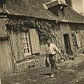 maison en 1947 qui faisait partie de la grande ferme