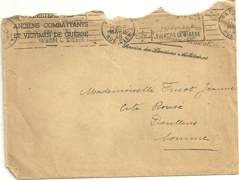 Mort pour la France Doullens 17 mars 1948_2