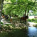 balade equestre gastronomique à La Lucerne d'Outremer (67)