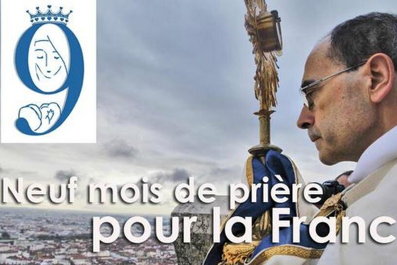 Clôture de La Neuvaine par Mgr Philippe Barbarin