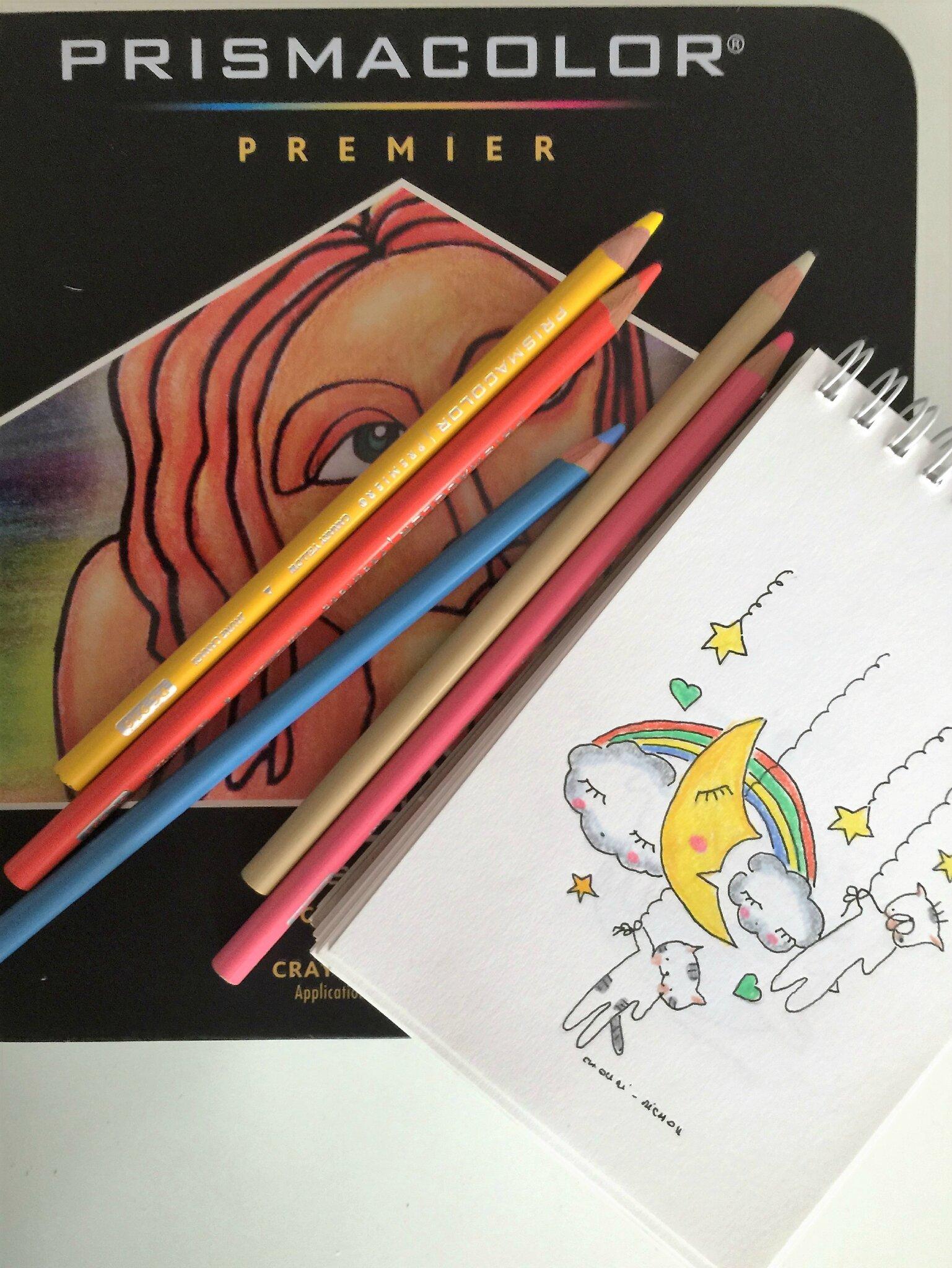 Je ne dessine quaux crayons de couleur
