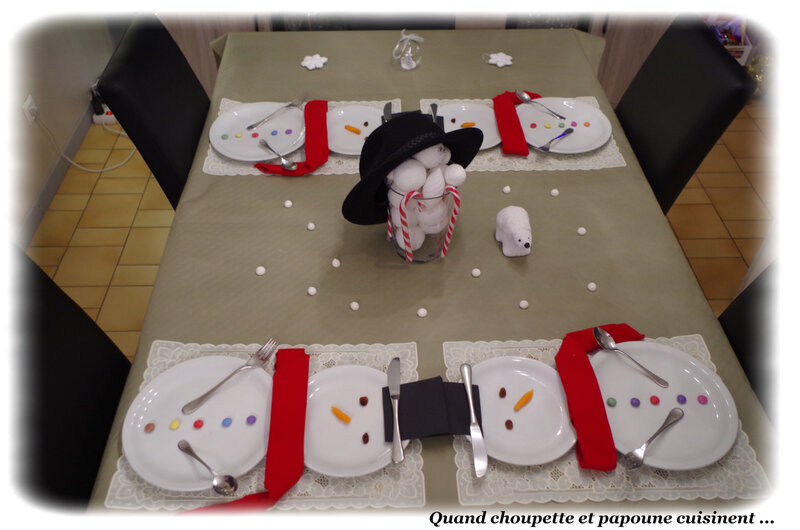 table bonhomme de neige-2824