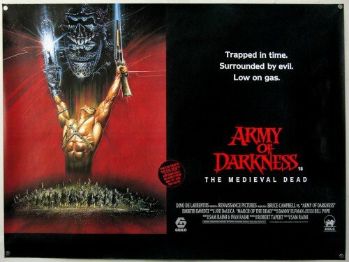 Army of darkness bannière
