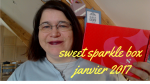 sweet sparkle box janvier 2017