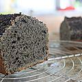 Cake au Sésame noir de Valérie