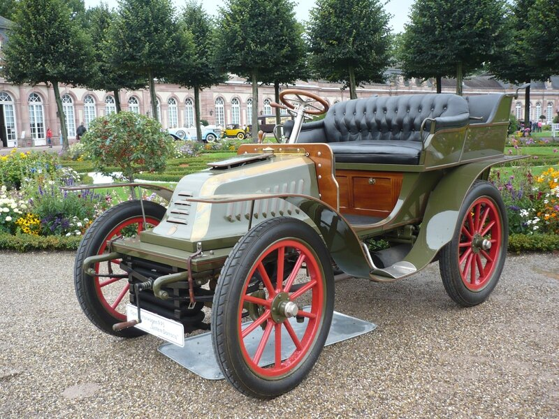 OPEL Darracq Motorwagen 9PS tonneau 1903 Schwetzingen (1)
