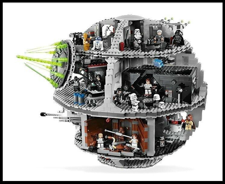 lego star wars death star 2