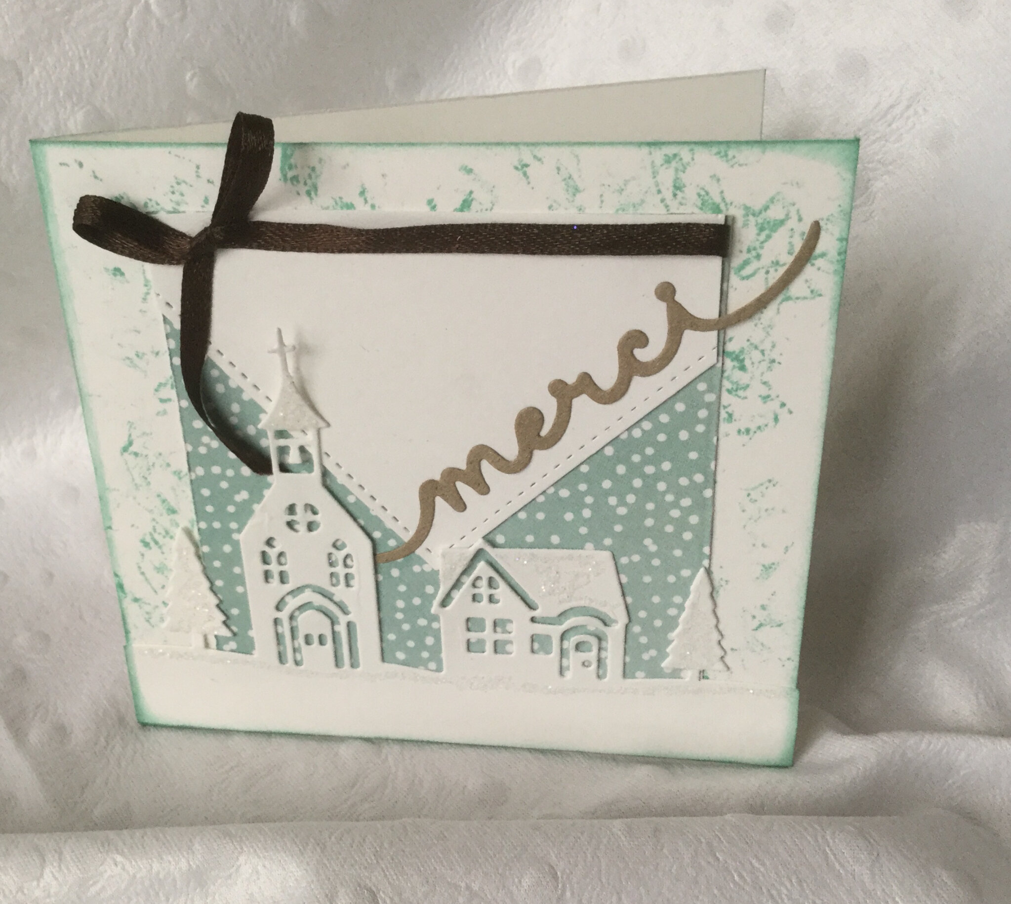 Petite carte «merci»