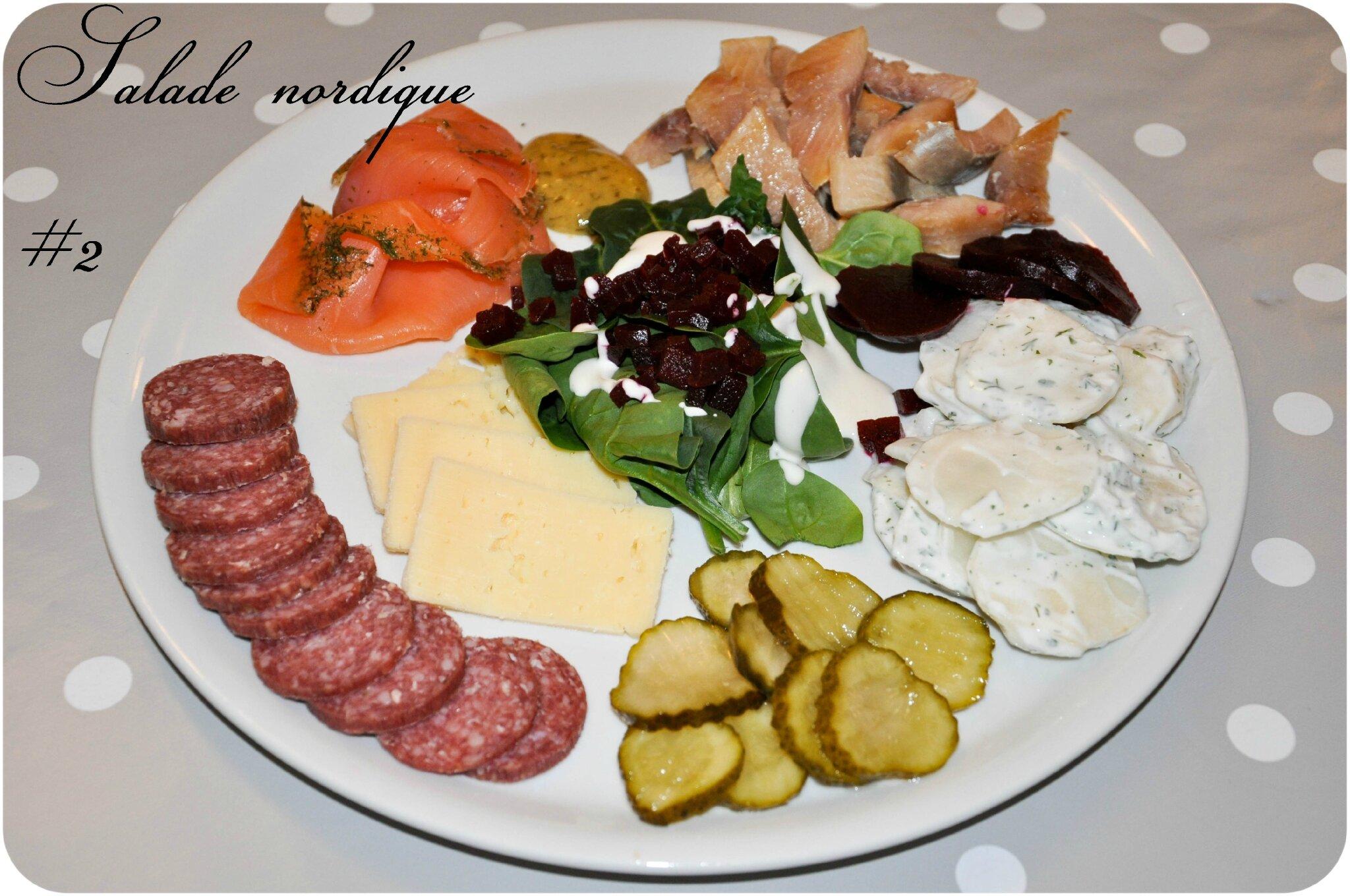 Assiette nordique 2e version un peu de r ve dans ma for Assiette cuisine