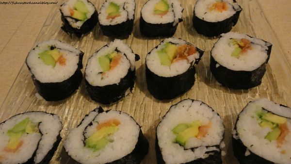 Makis saumon-avocats-concombres (18)