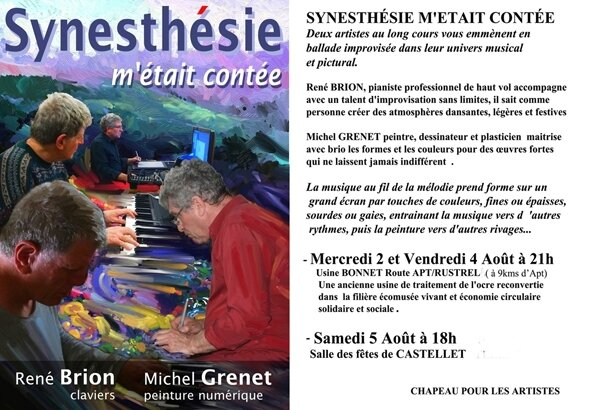 Synesthésie tract mail