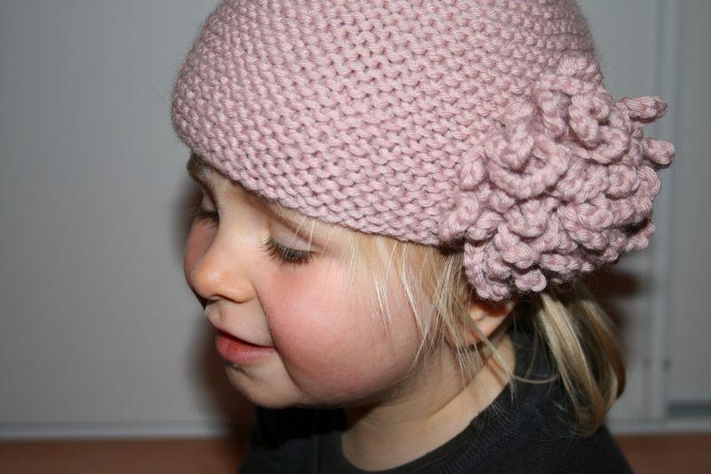 tricoter un bonnet fille 6 ans