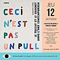 Ceci sera un vernissage