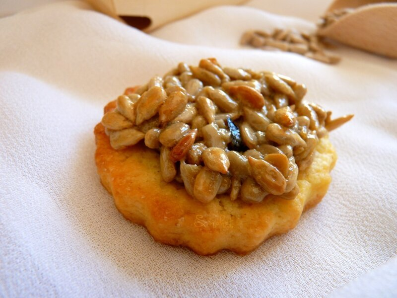 Biscuits aux graines de tournesol la fourchette gourmande - Graine de tournesol ...