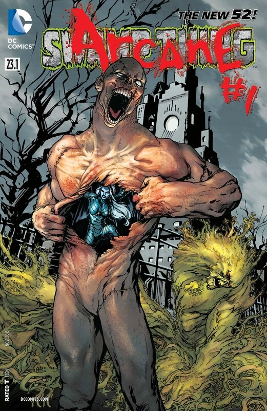 new 52 swamp thing 23