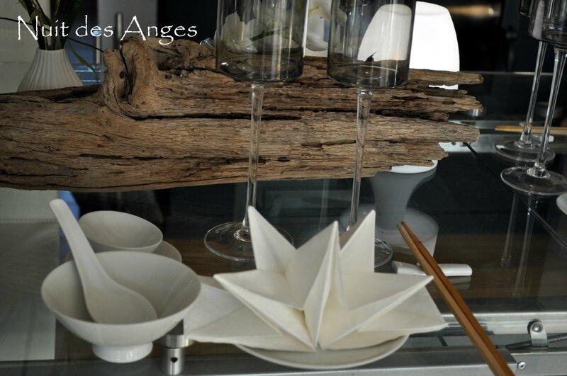 Nuit des anges décoration de table Japonaise 005