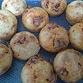 Muffins au chorizo, aux olives et au fromage