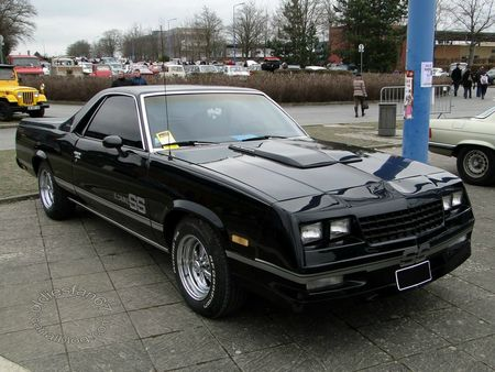 chevrolet el camino ss, 1984 1987, salon champenois reims 2013 3