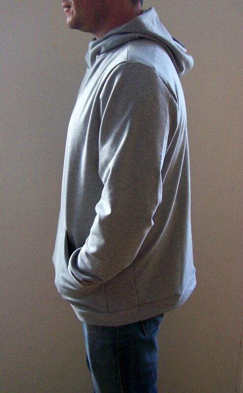 Sweat capuche gris (5)