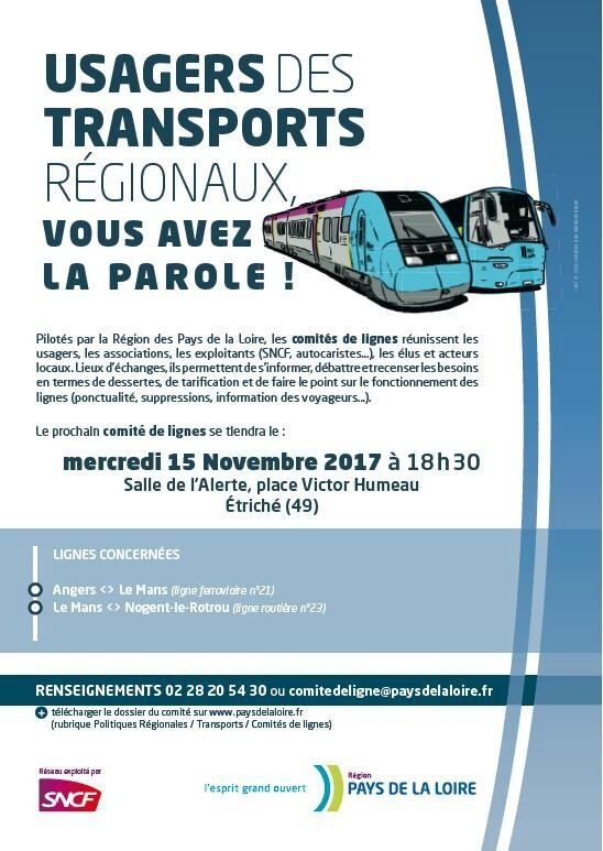 USAGERS DE TRANSPORTS