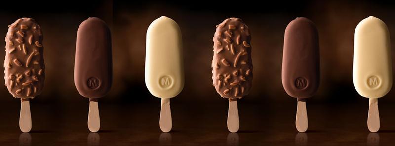 Plus que quelques jours pour cr er la glace magnum qui vous ressemble du br - Magnum chocolat blanc ...