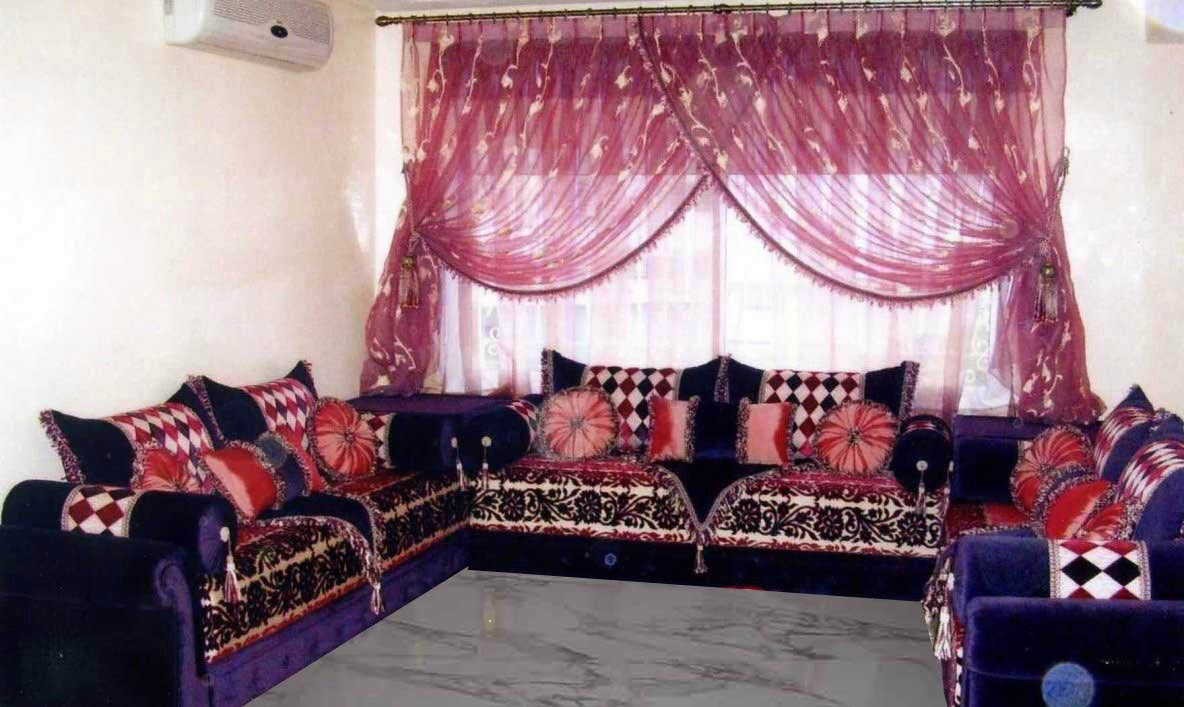 un salon marocain design moderne salon du maroc et d coration. Black Bedroom Furniture Sets. Home Design Ideas
