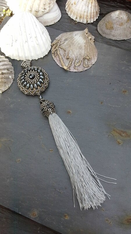 pendentif atelier netting circulaire