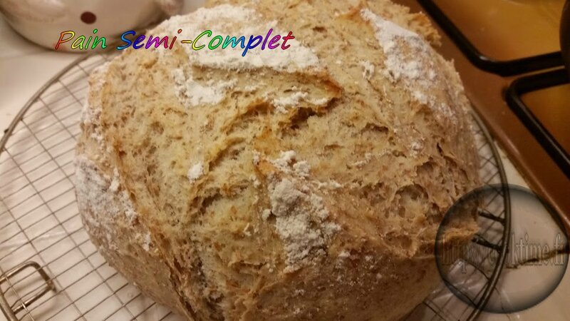Pain semi complet au Thermomix