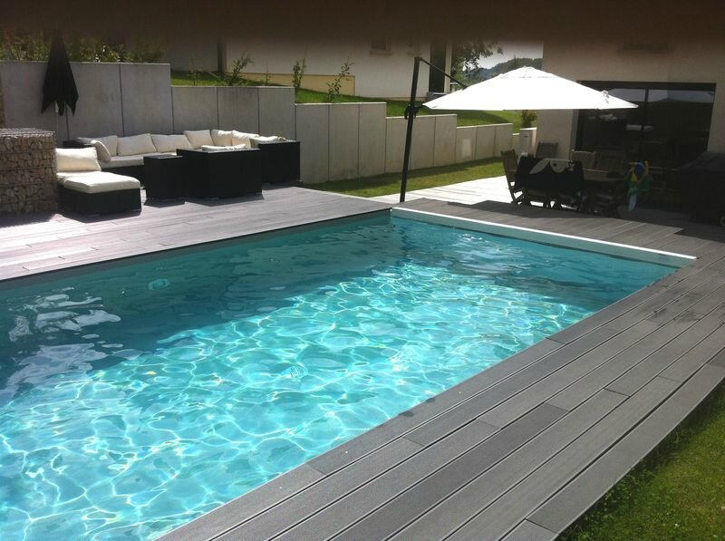 Villa contemporaine avec piscine mulhouse sans frais d for Piscines contemporaines