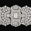 Diamond triple-clip brooch, bulgari, 1930s