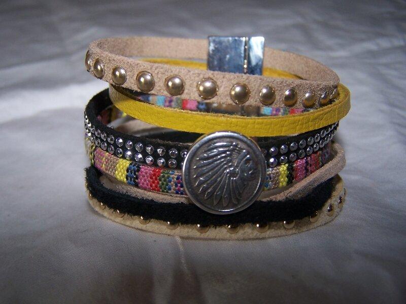 Bracelet tendance ethnique