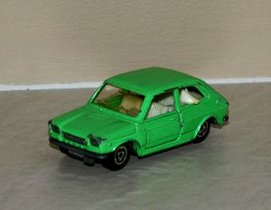 Fiat 127 de chez Majorette au 1