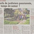 Jardinier de Catillon La VDN jeudi 09 05 2013