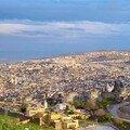 Vue Panoramique de la médina de Fés