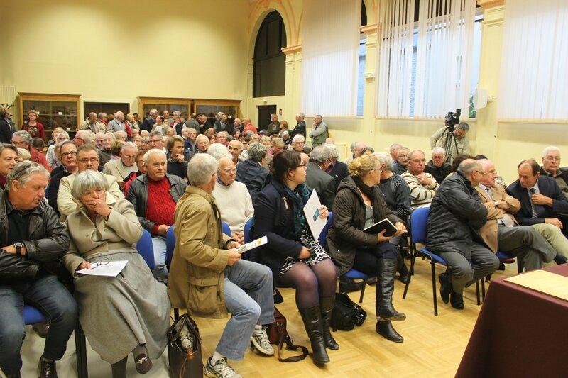 réunion publique barrage sur la Sélune Ducey collectif 2014