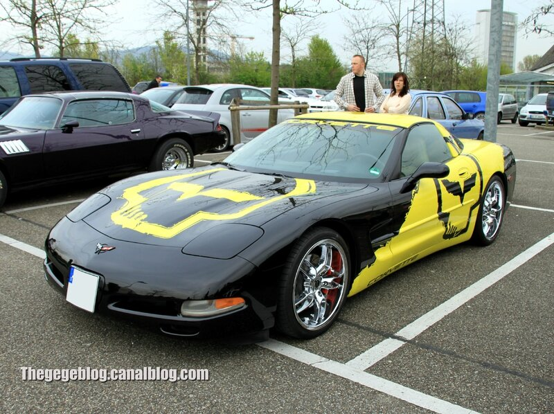 Chevrolet corvette C5 (Rencard Burger King avril 2014) 01